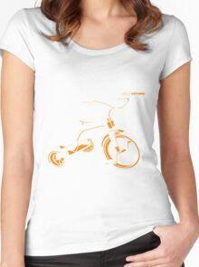 Ugo & Vittore Tricycle Women's Fitted Scoop T-Shirt