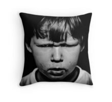 who turned off the cartoons!!!!!! Throw Pillow