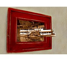 Paddleboat escape Photographic Print