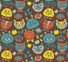 Hamsters by Olya-Yang