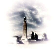 Royal Navy Memorial   by larry flewers