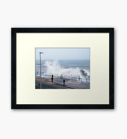 North Bay Scarborough Framed Print