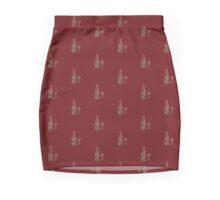 Red, Red Wine Mini Skirt