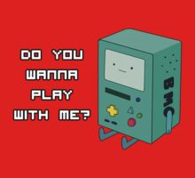 Do you wanna play with me? - BMO by evilaki