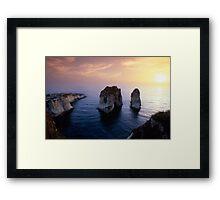 Raouche Framed Print
