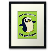 Gunter - Adventure Time Framed Print