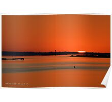 Sunrise Over Pattersquash Island | Smith Point, New York  Poster