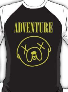 Jake Adventure Time Face T-Shirt
