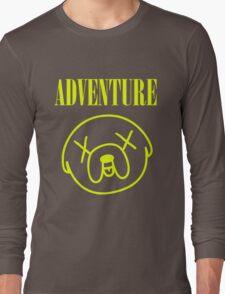 Jake Adventure Time Face Long Sleeve T-Shirt