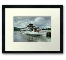 The Swan, Bowness-On-Windermere Framed Print