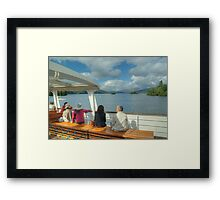 If it's Thursday,it must be Windermere... Framed Print