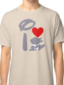 I Heart Thumper (Inverted) Classic T-Shirt