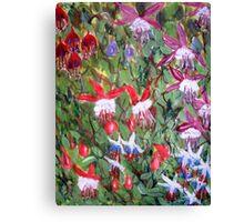 Fuchsia Mania Canvas Print