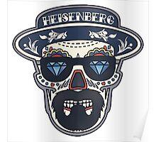 Heisenberg Bad | Day of The Dead Poster