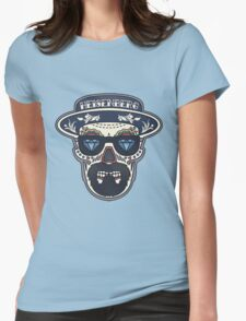 Heisenberg Bad | Day of The Dead Womens Fitted T-Shirt