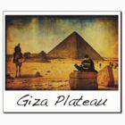Pyramids of Egypt - Giza Plateau by Mark Tisdale