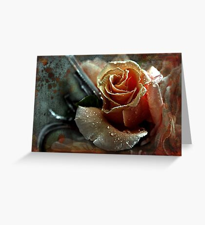 """"""" Silver & Gold ..."""" Greeting Card"""