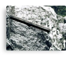 8.9.2010: Through the Stone Canvas Print