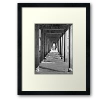 Jetty Bar Framed Print