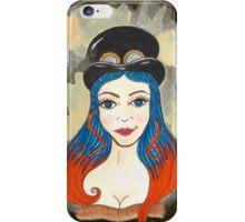 Blue and Orange Steampunk iPhone Case/Skin