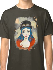 Blue and Orange Steampunk Classic T-Shirt