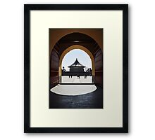 The Temple of Heaven - Beijing Framed Print