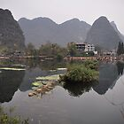 Reflections of Karsks - Yangshou by darylbowen
