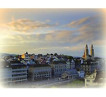 Morning Light in Zurich Photographic Print