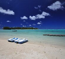 Muri Beach - Rarotonga, the Cook Islands by darylbowen