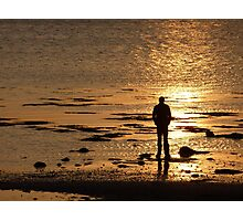Stranger On The Shore Photographic Print