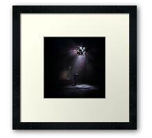 Light and darkness Framed Print