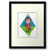 Daryl - Leonie Framed Print