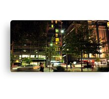 Six in the City Canvas Print