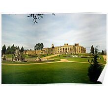 witley court-from the summerhouse Poster