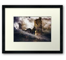 A Haunting of Ghosts. Framed Print