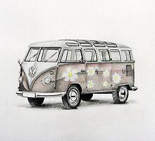 VW Kombi by Jack Froelich