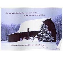Last Nite's Snow Poster