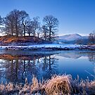 River Brathay Reflections. by Dave Lawrance