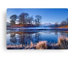 River Brathay Reflections. Canvas Print