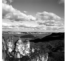 The Three Sisters at Dusk Photographic Print