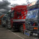 The paddock british superbike team trucks by markbailey74