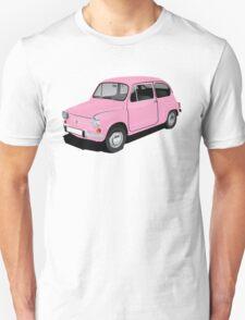 Retro automobile Fiat 600 T-Shirt