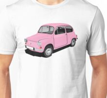 Retro automobile Fiat 600 Unisex T-Shirt