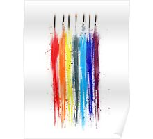 Paint abstract Poster