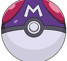 Master ball Poke ball by EMREL