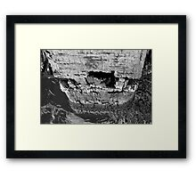 Strong structures Framed Print