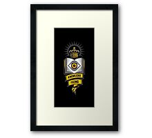 """KNOWLEDGE IS KING"" Framed Print"