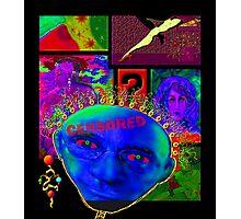 'Realist Boogie Man' Mask #3 Photographic Print