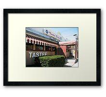 Tastee Diner Framed Print