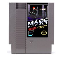 Mass Effect - Now for NES! Photographic Print